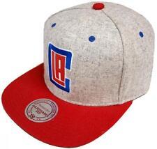 Mitchell & Ness Los Angeles Clippers Melange Flannel EU912 Snapback Cap Basecap