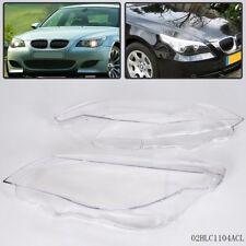 Headlight Headlamp Lens Light Cover For BMW 5 series E60 E61 525i 530i 535i 550i