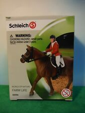 SCHLEICH SHOW JUMPING RIDING SET #42056 *NEW*