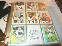1978 Topps Football  NFL Complete Set 1- 528  EX  to  MINT  Lot card Collection
