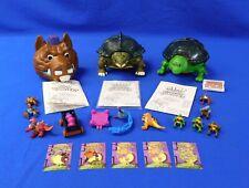Lot of 3 Mini Mutants Sets- Tokka, Bebop, Raphael TMNT Ninja Turtles Playmates