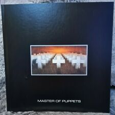 More details for metallica master of puppets box set hardback book amazing high quality rare new