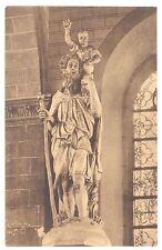 CPA  BELGIQUE - LIEGE - Eglise St-Christophe - Statue de Saint Christophe - TTB