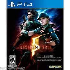 Resident Evil 5 (PS4, 2016)