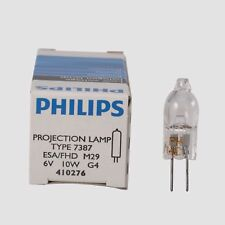 Halogen Lamp for Philips 6V 10W Projection Bulb For PHILIPS 7387 ESA 6V10W G4