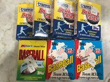 Lot Of 7 Boxes (sets) Revco Rite Aid Kmart Topps Cards League Leaders MVPs