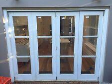 DOUBLE GLAZED TIMBER BIFOLD DOORS - SOLID CEDAR