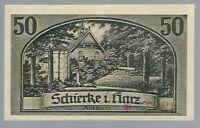 Notgeld - Schierke - Gemeinde Schierke - 50 Pfennig - 1921 - Bild 1