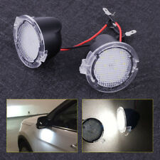 2pcs High Power LED Under Side Mirror Puddle Lights Fit For Ford F150 2009-2014