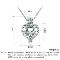 Fashion Crystal Hollow Pendant Jewelry Chain Chunky Statement Necklace Gift