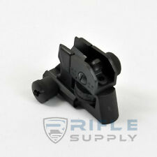 223/5.56 Detachable Rear Sight Dual Apertures Rear Sight Adjustable Clip On