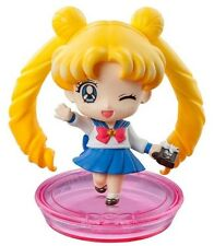 Sailor Moon - Petit Chara 3 Mini Figure Megahouse - USAGI & Luna (B) wink
