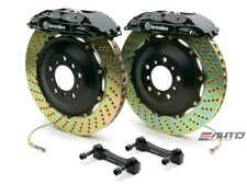 Brembo Front GT Brake 4Pot Caliper Black 355x32 Drill Disc for STi Legacy GT 3.6