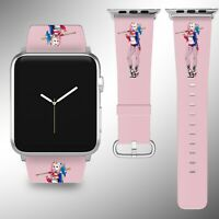 Harley Quinn Apple Watch Band 38 40 42 44 mm Series 1 2 3 4 5 Wrist Strap 1