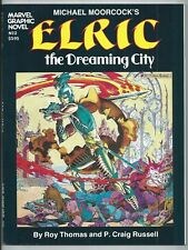 **MARVEL GRAPHIC NOVEL #2: MICHAEL MOORCOCK'S ELRIC THE DREAMING CITY**(1982)**