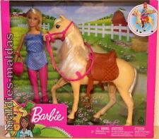 Barbie & Pferd FXH13 NEU/OVP Puppe