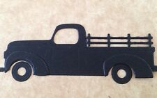 • • • Die Cuts ~ 'OLD UTE' - x5 ~ Black ~ Stampin' Up Card Stock ~ Cards