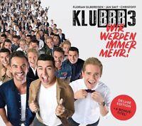 KLUBBB3 - WIR WERDEN IMMER MEHR! (DELUXE EDITION)   CD NEU