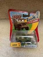 Disney Pixar Cars Die Cast Look My Eyes Change Sarge #30