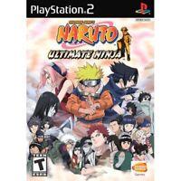 Naruto: Ultimate Ninja For PlayStation 2 PS2 Fighting Very Good 2E