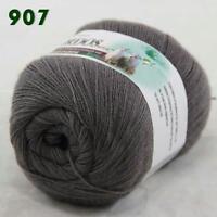 Sale 1 ball LACE Soft Crochet Acrylic Wool Cashmere Wrap Hand Knitting Yarn 07