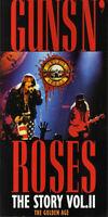 BOX 4 CD Guns N' Roses The Story Vol II The Golden Age TEMPLAR ITALY 1993 RARE