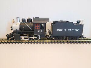 LGB 20232 Union Pacific 2-4-0 Steam Locomotive & Tender w/Sound/Smoke Excellent