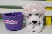 PET CAKES POODLE CUPCAKE PLUSH TOY SOFT TOY 18CM TALL