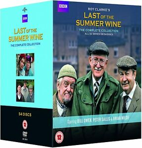 LAST OF THE SUMMER WINE COMPLETE COLLECTION 1-32 DVD BOXSET 54 DISC New & Sealed