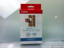 Canon 7740a001 kc-18il 18 fogli di carta + CARTUCCIA PER cp-100, 200,220,300,330