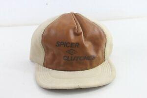 trucker hat baseball cap Vintage Snapback Leather Corduroy Spicer Clutches Dana