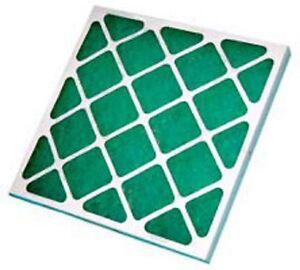 "SprayBooth Panel filter fiberglass  PANEL FILTER gp24X24X2"" PACK OF 2"