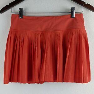 Lululemon Size 4 Pleat To Street Skirt Alarming Red