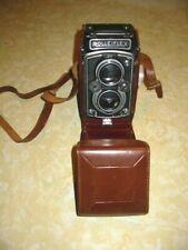 New listing Antique Vintage Rolleiflex Camera Carl Zeiss Tessar 1:2.8 w/case