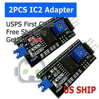 2X IIC/I2C Interface Serial  Board Adapter Module Arduino 1602 2004 LCD Display