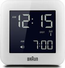Braun BNC009WHRC Digital Quartz Alarm Clock