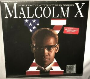 LP SOUNDTRACK Malcolm X (Red Vinyl, RSD 2019) NEW MINT SEALED