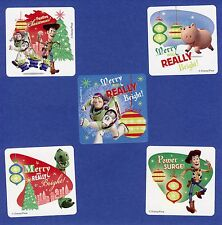 15 Toy Story Christmas Holiday Season - Large Stickers - Party Favors