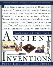 Ancient Inventions Wonders of the Past Greek Roman Aztec Etruscan Paperback