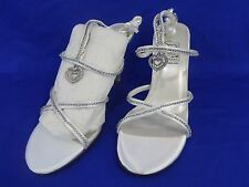 NEW Special Occasions by Saugus Shoe JULIET 5230 White Satin Size: 5M