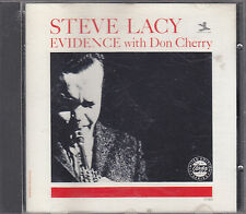 STEVE LACY with DON CHERRY - evidence CD