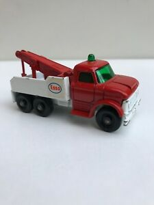 MATCHBOX LESNEY # 71 FORD HEAVY WRECK TRUCK ESSO Made In England 1968 Nice
