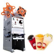 220V Semi-automatic Bubble Tea Cup Sealing Machine Cup Sealer WY-168 7/7.5/9.5cm