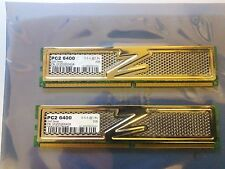 OCZ Gold series 4GB(2x2GB) PC2-6400 Desktop Memory OCZ2G8004GK