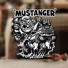 Mustanger Ed Roth Aufkleber Sticker Rat Fink Moon Hemi Mopar V8 Kustom Kulture