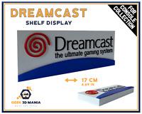 Display SEGA DREAMCAST Shelf Deco for Retro Video Games Collection Gaming