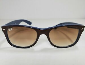Ray-Ban Sunglasses RB2132 New Wayfarer 874/51 Brown/Blue