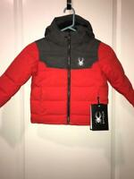 Spyder Kids Mini Clutch Down Ski Snow Jacket NWT MSRP $135.00