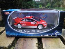 SOLIDO RACING PEUGEOT 307 WRC MONTE CARLO 2004 état Neuf en boite