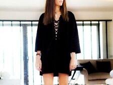 Isabel Marant suede black tunic, size 2, AUS 10 NEW